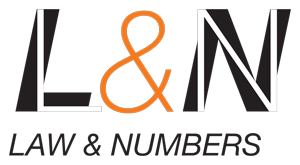 Law and Numbers Retina Logo